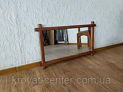"""Зеркало в деревянной рамке для прихожей, спальни, гостиниц """"Жаклин"""" (цвет на выбор), фото 3"""