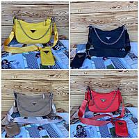 Женская сумка кросс-боди Prada Re-edition Прада реплика