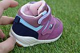 Детские высокие демисезонные кроссовки хайтопы найк Nike сиреневые, копия, фото 3