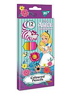 """Карандаши цветные YES 12 цв. """"Alice"""""""