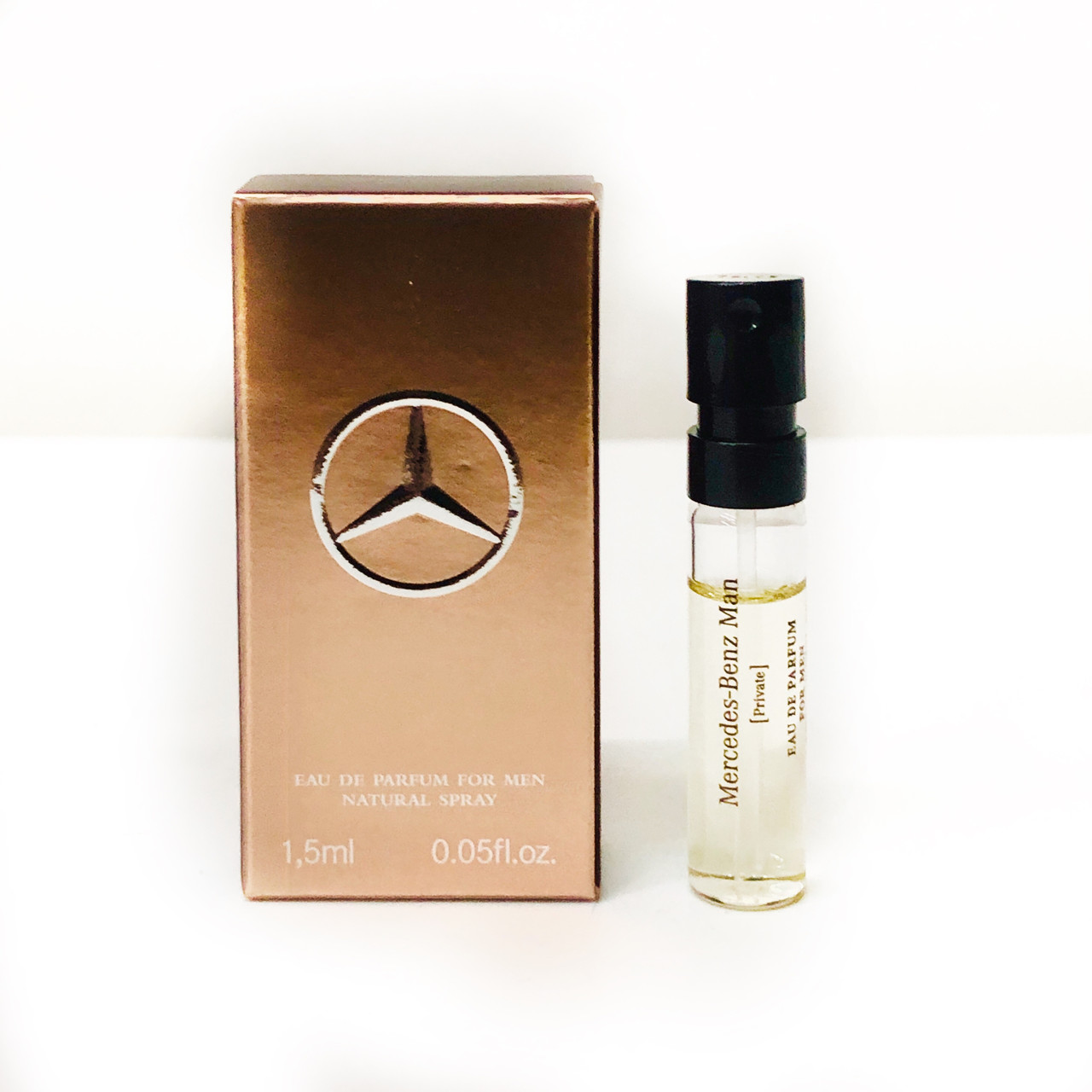 ПРОБНИК духів чоловіча парфумована вода Mercedes-Benz Man Private 1,5 ml східний деревний аромат ОРИГІНАЛ