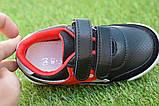 Туфлі дитячі кросівки на хлопчика Reebok чорні р26-30, копія, фото 8