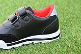 Туфлі дитячі кросівки на хлопчика Reebok чорні р26-30, копія, фото 6