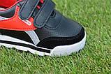 Туфлі дитячі кросівки на хлопчика Reebok чорні р26-30, копія, фото 4