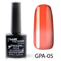 Lady Victory Термо гель лак, объем 7,3 мл, GPA-005