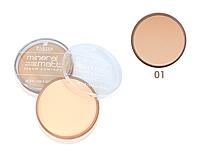 Пудра минеральная компактная Mineral powder PP-06 Parisa Cosmetics №1 Светло-бежевый