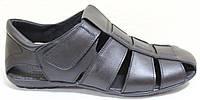 Босоножки мужские кожаные на липучках от производителя модель ЛМ07