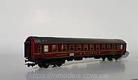 PIKO SCHICHT Вагон пассажирский 4х осный, MITROPA, красный,масштаба 1:87,H0, фото 1