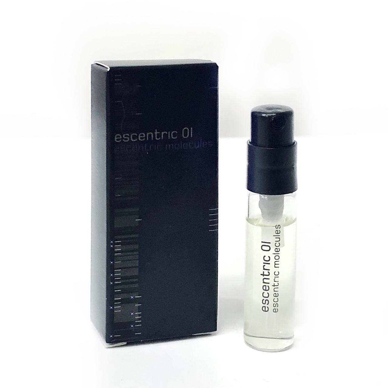 Пробник унісекс духів ESCENTRIC Molecules Escentric 01 туалетна вода 2мл, ОРИГІНАЛ квітково-мускусний аромат