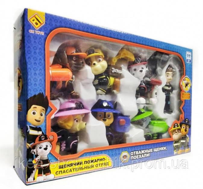 Набір Фігурок CH Toys Щенячий Пожежно Рятувальний Загін CH-516T