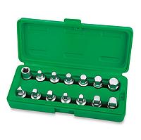 Набор головок для маслосливных пробок, 14 предметов, Toptul JGAI1402