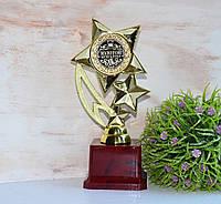 """Награда кубок Бухгалтеру """"Золотой Бухгалтер"""" (надпись можно изменить)"""