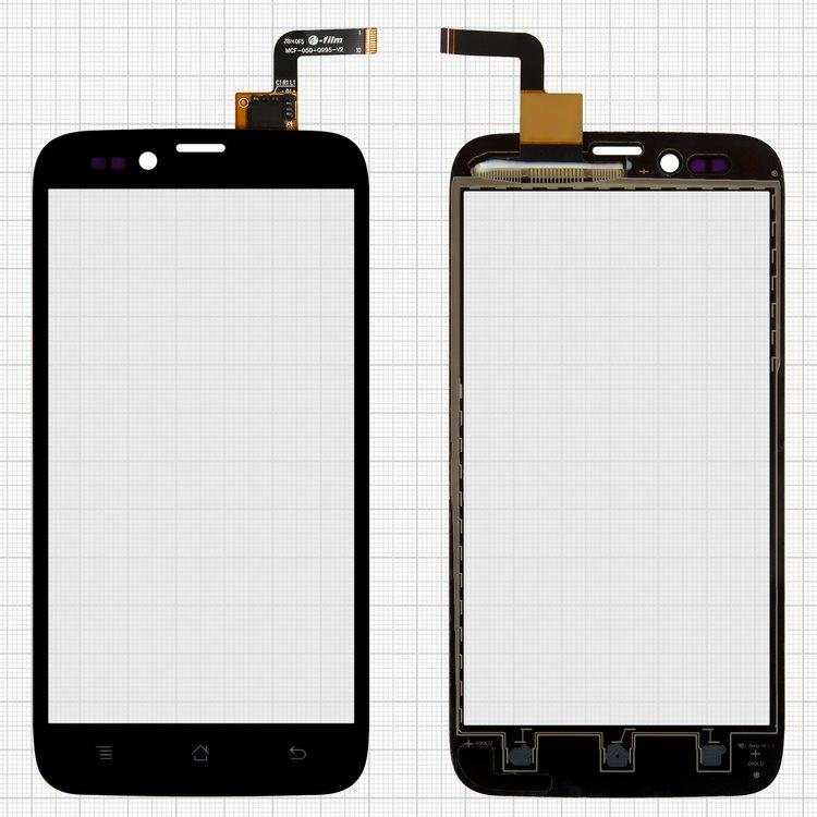 Сенсорный экран (тачскрин) Archos 50 Platinum чёрный