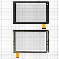Сенсорный экран (тачскрин) для планшета Archos 101b Oxygen (259*160мм), 50pin, чёрный