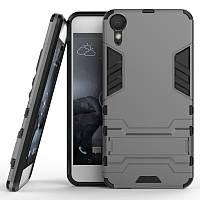 Ударопрочный чехол-подставка Transformer для HTC Desire 10 Lifestyle с мощной защитой корпуса
