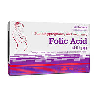 Фолиевая кислота Olimp Folic Acid (30 табл) олимп