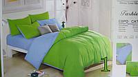 Комплект однотонного постельного белья 200х220