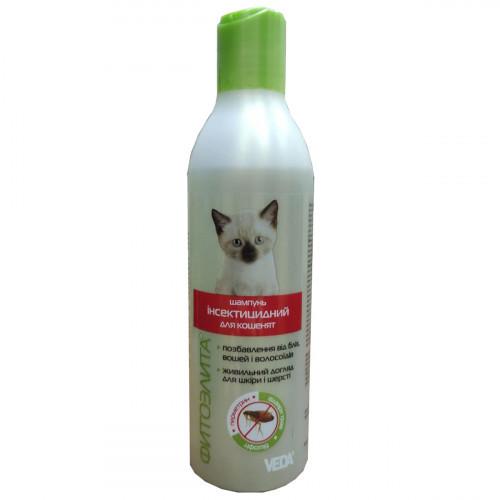 Шампунь інсектицидний Veda Фитоэлита для кошенят, 220 мл