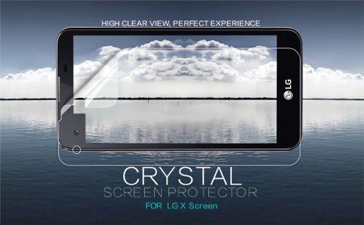 Защитная пленка Nillkin Crystal для LG K500 X Screen / X View