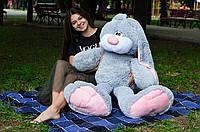 Плюшевый кролик зайчик Тотти 125 см.
