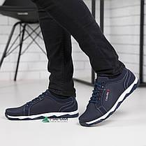 Чоловічі кросівки сині, фото 3