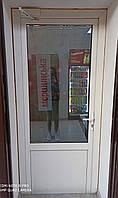 Дверь б/у межкомнатная с нажимной ручкой 900 х 2120 Salamander 2D