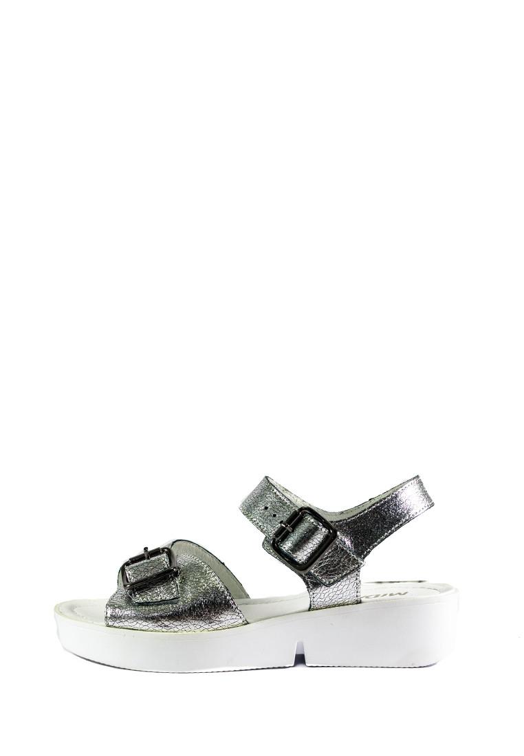 Босоножки женские MIDA 23827-115 серебро кожа (36)