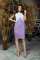 Красивое женское летнее платье в офис