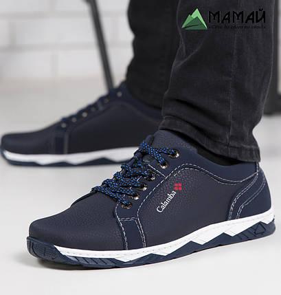 Мужские кроссовки синие, фото 2
