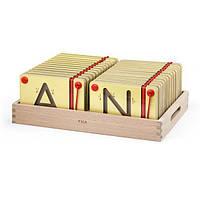 Набор для написания магнитных букв Заглавные Viga Toys (50337)
