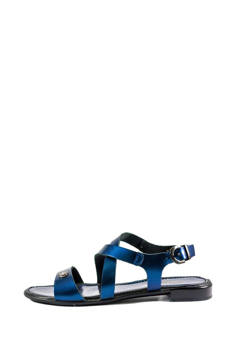 Босоножки женские MIDA 23785-540 темно-синяя кожа (36)