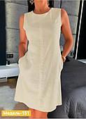 Платье летнее с карманами рр 42-48 цвет в ассортименте