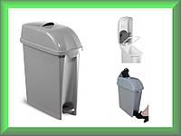Урна для сміття з педаллю, пластмасова урна, кошик пластмасова ELLE 17л 00005481 TTS
