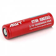 Аккумулятор AWT 18650 3000 mAh