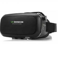 3D очки виртуальной реальности VR BOX SHINECON + пульт Черные A671970389, КОД: 195862