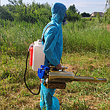 Аэрозольный генератор горячего тумана ZFH - 180 (ВИДЕО), фото 6