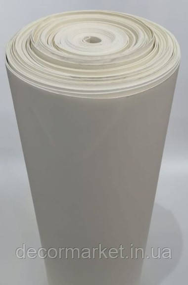 Фоамиран 2мм молочный рулонный