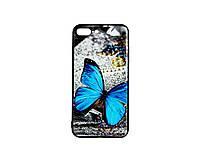 Чехол-накладка 3D для Apple IPhone 7Plus Blue Butterfly Morpho 1597, КОД: 288601