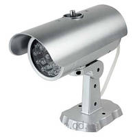 Муляж камеры наблюдения PT-1900 двигающийся с датчиком, Видео камера обманка, видеокамера! Лучшая цена