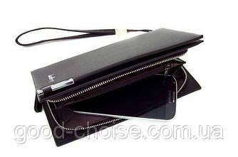 Мужской стильный кошелек клатч Baellerry Classic / Мужское портмоне (19х 10х 3,5см)