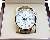 Часы Tag Heuer Space X 45mm Gold/White/Blue (Механика). Реплика Premium качества (AAA).