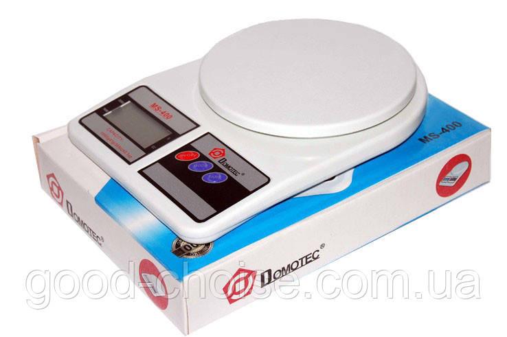 Кухонные электронные весы Domotec MS-400