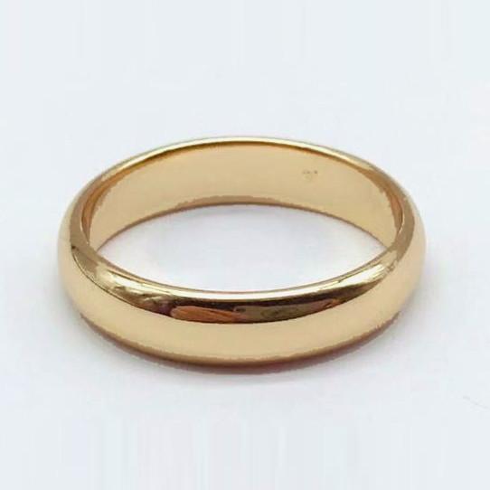XUPING Кольцо обручальное Позолота 18к 5мм Размер 15.5,16.5,17.5,18,20.5,21