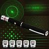 Мощная лазерная указка с LED насадкой LASER GREEN 5 IN 1 / Зеленый лазер, фото 7