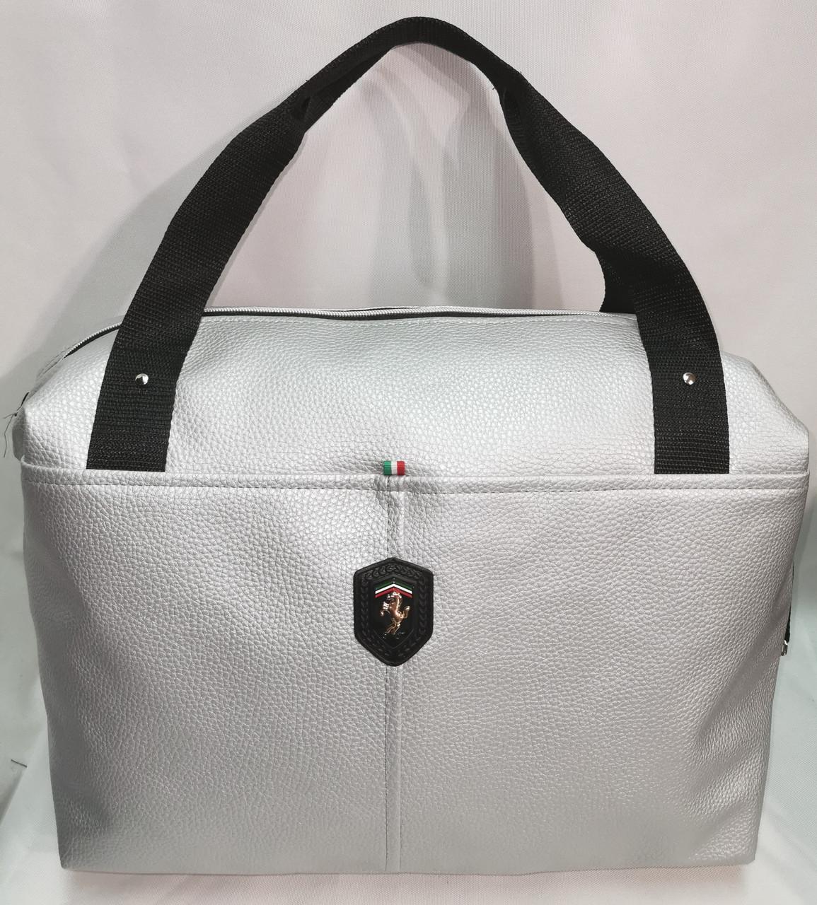 Женские сумка SJ-Ferrari искусств кожа спортивная стильная только оптом
