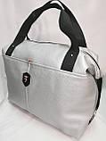 Женские сумка SJ-Ferrari искусств кожа спортивная стильная только оптом, фото 3