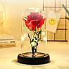 Роза в колбе с LED подсветкой (маленькая), фото 3