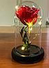 Роза в колбе с LED подсветкой (маленькая), фото 8