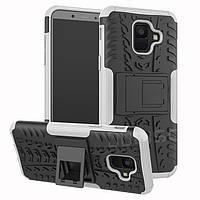 Чехол Armor Case для Samsung A600 Galaxy A6 2018 White