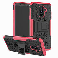 Чехол Armor Case для Samsung A605 Galaxy A6 Plus 2018 Rose